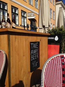 Copenhagen take away beer